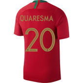 Nike Quaresma Portugal 2018 World Cup Home Jersey