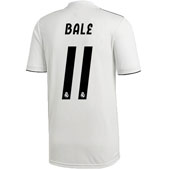 adidas Real Madrid Bale Home 2018-19 Stadium Jersey