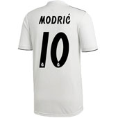 adidas Real Madrid Modric Home 2018-19 Stadium Jersey