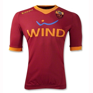 Kappa AS Roma Authentic Home Jersey