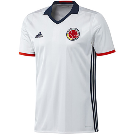d07556c0e adidas Colombia Youth Home 2016-17 Replica Jersey