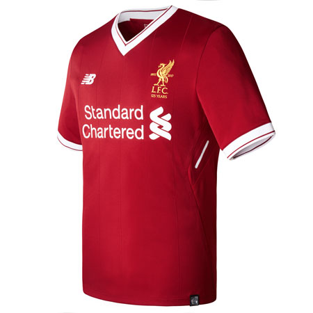New Balance Liverpool Home 2017-18 Authentic Jersey