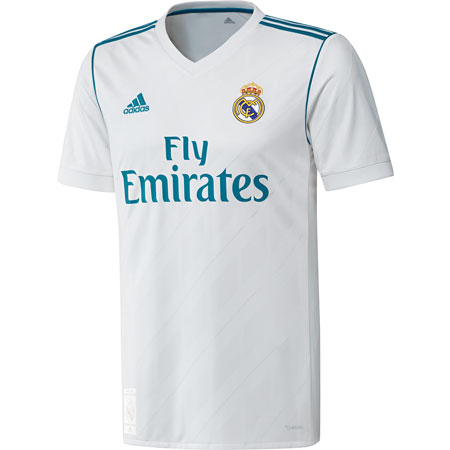 fb0d0783e adidas Real Madrid 2017-18 Home Replica Jersey