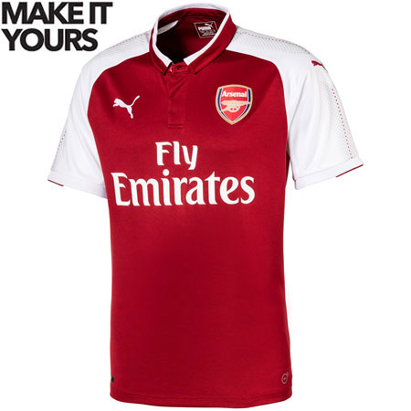 1463a4534 Puma Arsenal Home 2017-18 Youth Replica Jersey