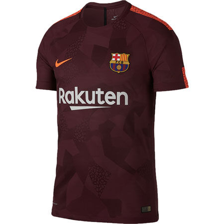 Nike FC Barcelona 2017-18 Third Authentic Match Jersey
