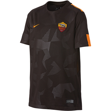 Nike AS Roma 2017-18 Youth Third Stadium Jersey