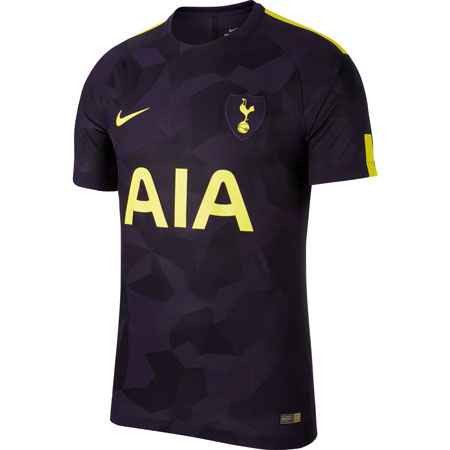 Nike Tottenham 2017-18 Third Authentic Match Jersey