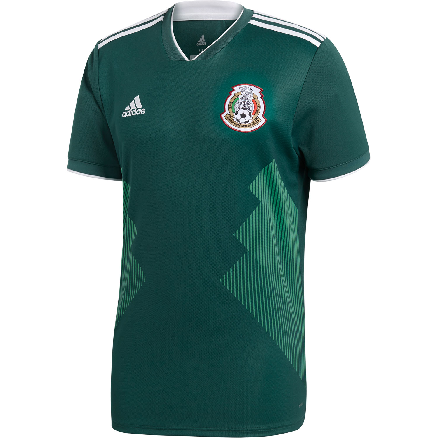 adidas Mexico 2018 World Cup Home Replica Jersey 63674c00b