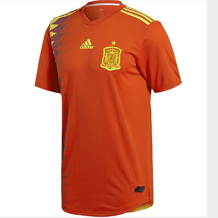 feeeca8449c adidas Spain 2018 World Cup Home Authentic Jersey