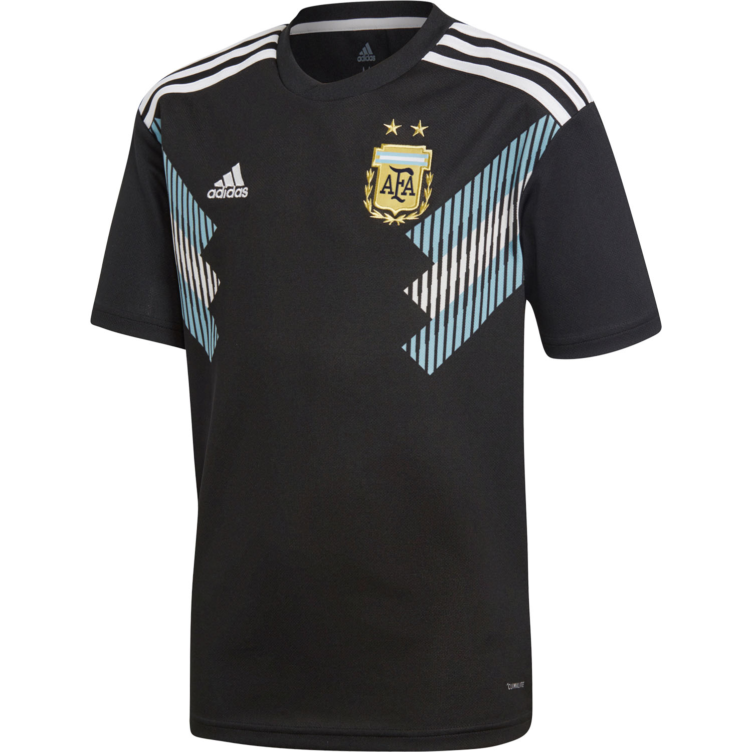 f2b23fb29 adidas Argentina 2018 World Cup Youth Away Replica Jersey. Item Desc Product
