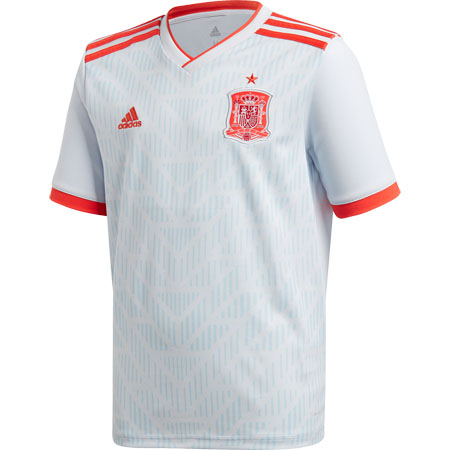 e4173000 adidas Spain 2018 World Cup Away Youth Replica Jersey | Shop for ...