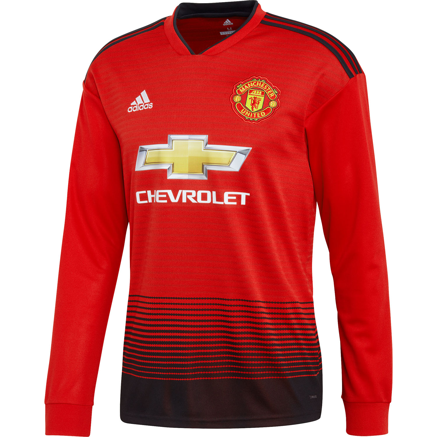 adidas Manchester United Home 2018-19 Long Sleeve Jersey  f3d6f3c65