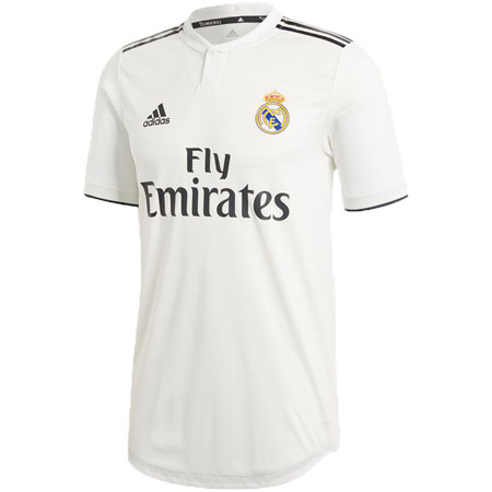 adidas Real Madrid 2018-19 Home Authentic Jersey