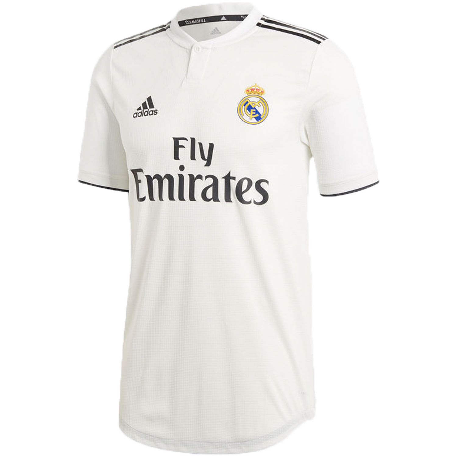 75e7cfa8db12 adidas Real Madrid 2018-19 Home Authentic Jersey
