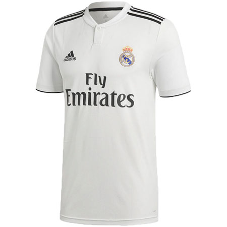 big sale 9edd8 ca6ff adidas Real Madrid 2018-19 Home Replica Jersey | Shop for ...