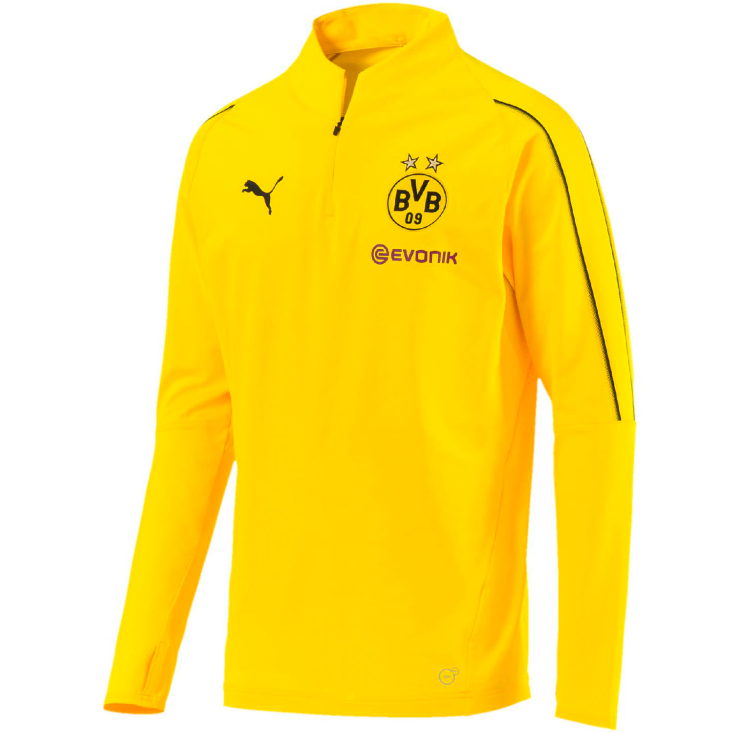 5b5ee67ac Puma BVB Dortmund Men s 1 4 Zip Training Top