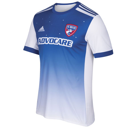low priced f18b2 3f9ff adidas FC Dallas Away 2018-19 Secondary Jersey | Shop for ...