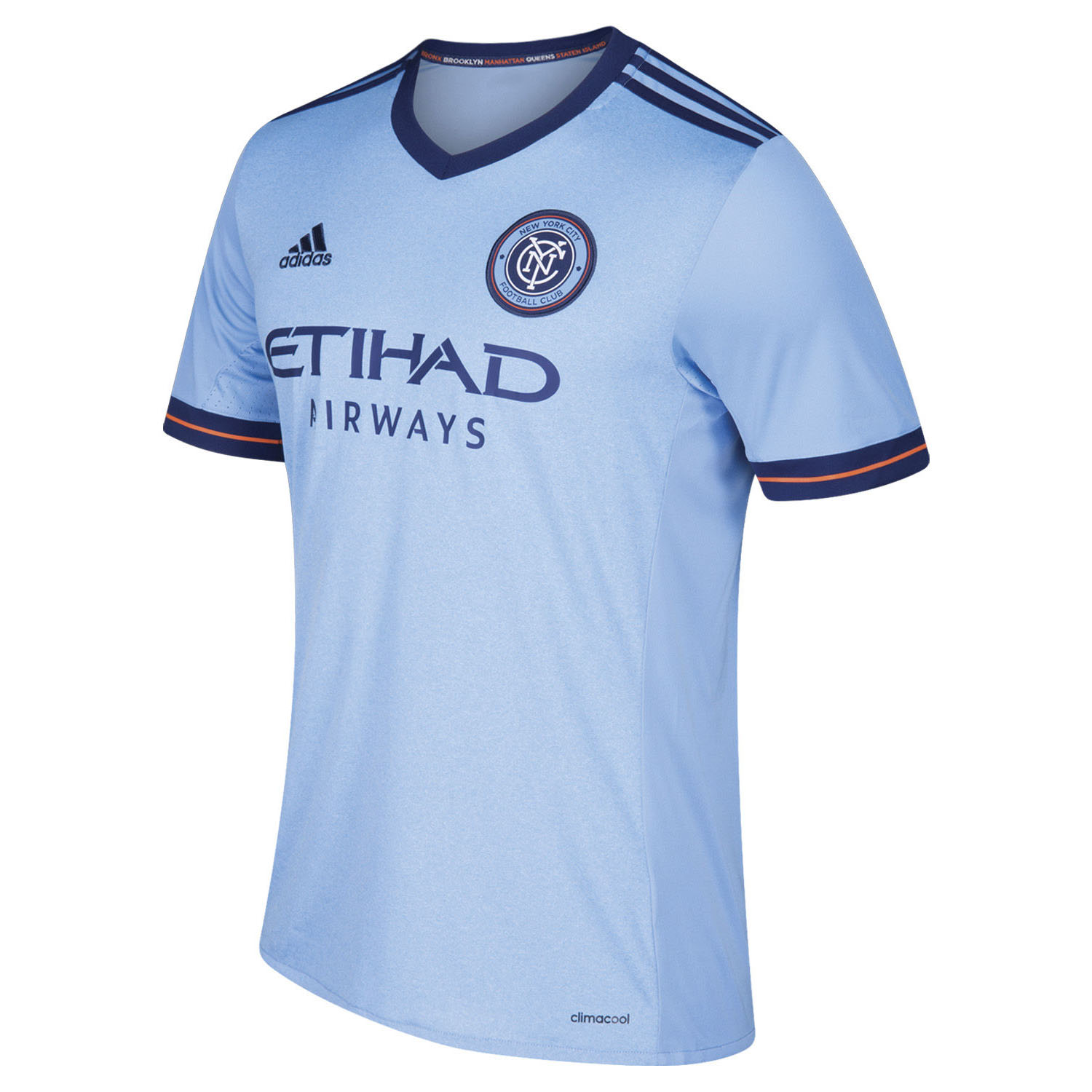 0304993bb adidas NYCFC Home 2018-19 Youth Primary Jersey