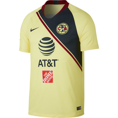 Nike Club America Home 2018-19 Stadium Jersey