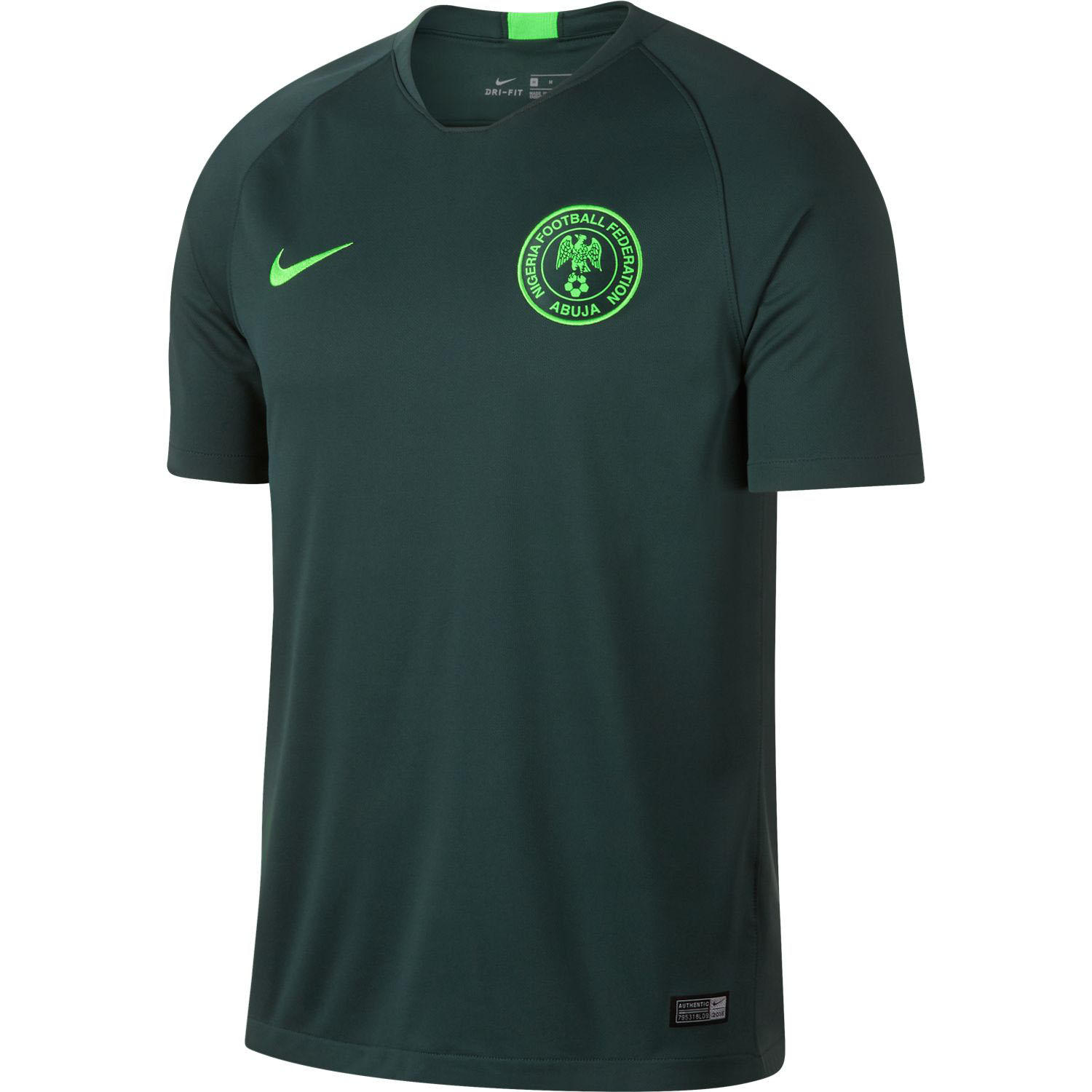 d98ea08c9 Nike Nigeria 2018 World Cup Youth Away Stadium Jersey