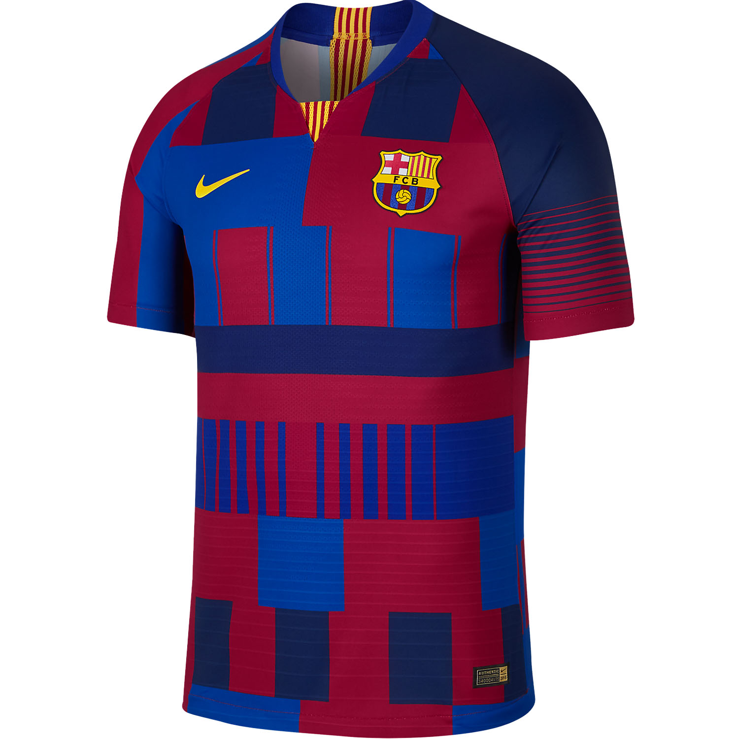 Nike FC Barcelona Home 20th Anniversary Authentic Vapor Jersey ... c342888d578