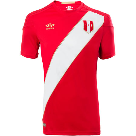 b26e78a07c Umbro Peru 2018 World Cup Away Replica Jersey | Shop for Football Boots