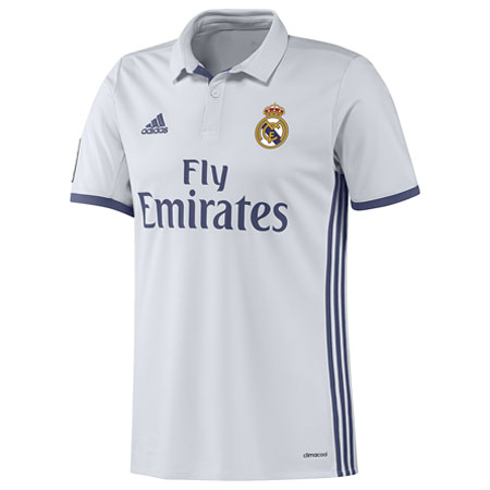 adidas Real Madrid Home 2016-17 Replica Jersey