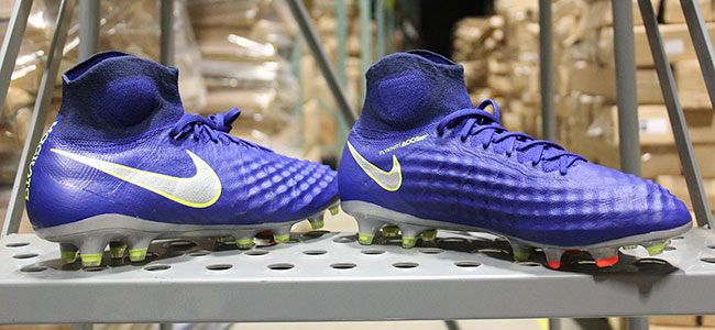 2555a69cdb2 The Men s Nike Magista Obra II Soccer Cleat. The Dynamic Fit collar  integrates the foot and lower leg while a 3-D texture on key areas of the  boot provides ...